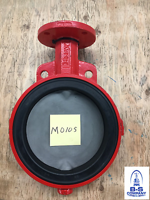 """Butterfly Valve 8"""" 150 Wafer BRAY Fig. 20 Bare Stem EPDM Seat Stainless Disc"""