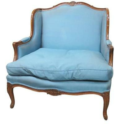 Louis XVI Style Upholstered Bergere