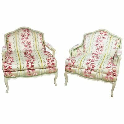 Companion Pair of Louis XV Style Chairs