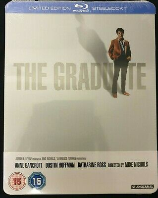 The Graduate - Limited Edition Steelbook - Blu-Ray - New/Sealed
