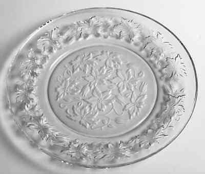 #2T017 Princess House Fantasia Frosted 10 Inch Dinner Plate