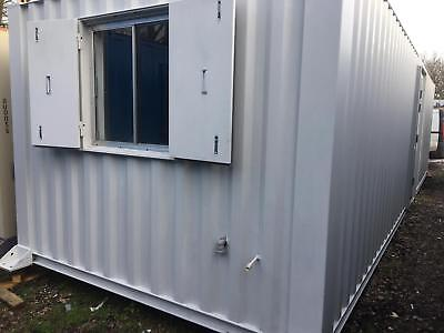 32ft x 10ft anti vandal cabin