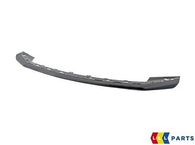 New Genuine Porsche 991 11-16 Front Bumper Lower Black Spoiler Lip