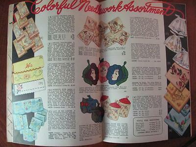 1950 Aunt Ellens Needlework Catalog Illustrated Quilting/Sequin Beads/Jackets+