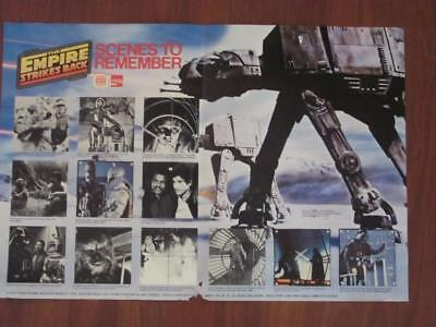 1980 Star Wars Empire Strikes Back Super Scene Collection Burger King Coke