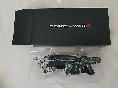 "Gears Of War 4 Mark 2 Lancer Official Replica Model Gaming Exclusive 4.5/"" Figure"