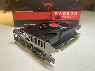 XFX AMD RADEON RX 560 4GB GDDR5 1295Mhz Core DP HDMI Graphics Card Gaming