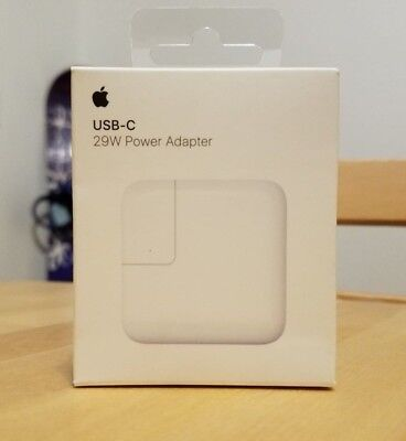 Apple 29W USB-C Power Adapter MJ262LL//A A1540 NEW 100/% GENUINE