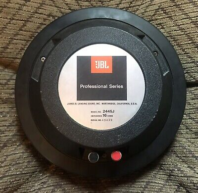 "JBL 2445J 2"" Compression Driver (Great Condition)"