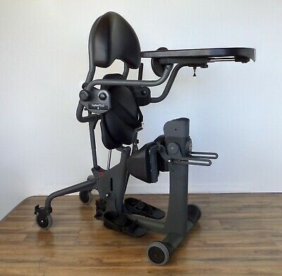 EasyStand EVOLV Shadow standing frame - easy sit-to-stand wheelchair therapy