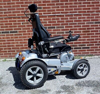 Permobil TRAX all-terrain, off-road power wheelchair, like F5 X850, SHIPS FREE!!