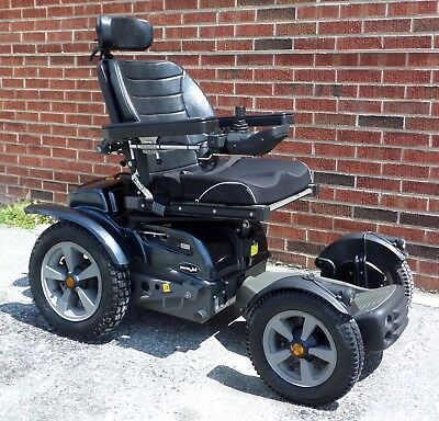 Permobil X850 - The all-terrain, off-road power wheelchair, F5 Trax - SHIPS FREE