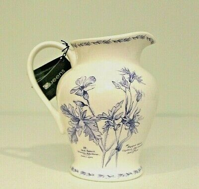 Fine China Pitcher Queens Collection New Royal Horticultural Society Collectible