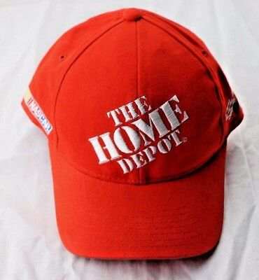 newest 103fe 67ac8 Tony Stewart 20 Home Depot NASCAR Hat Chase 7 1 8 Fitted Hat Cap Gibbs