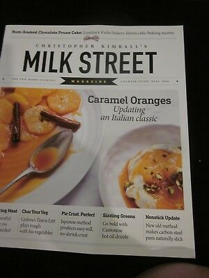 Christopher Kimball's Milk Street Magazine Charter Issue Fall 2016 Brand New