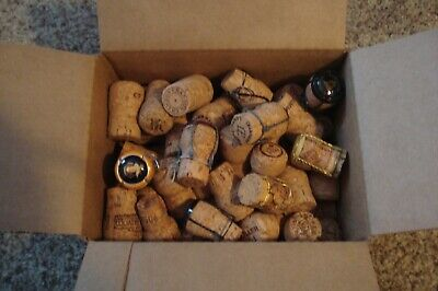 50 Count. Premium Recycled Champagne Corks,