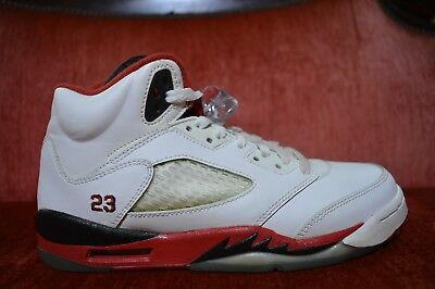 lower price with a90b7 5e0a7 2013 YOUTH NIKE AIR JORDAN RETRO 5 V SHOES Size 6.5 Y 440888 120 FIRE RED