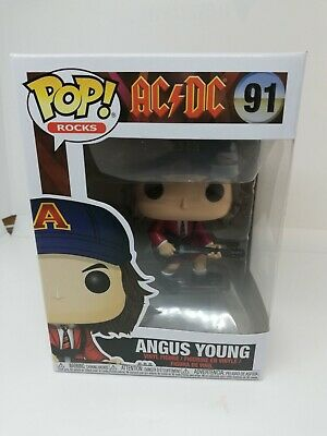Funko POP Vinyl Rock ! Angus Young AC DC - #91 - Red Jacket Limited edition