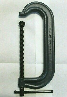 """Hargrave 10"""" #44, Heavy Duty C Clamp, Made in USA, Brand New!"""