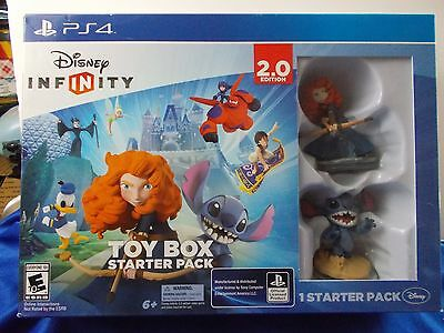 Disney Infinity Toy Box Starter Pack 2.0 Edition Sony Playstation 4 PS4 Stich