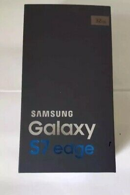 New Boxed Samsung Galaxy S7 Edge SM-G935F Coral Blue 32GB (Unlocked) Smartphone