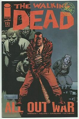 The Walking Dead 121 122 123 124 125 126 lot 6 issues All Out War Negan+