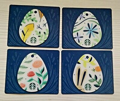 Starbucks Card Complete Easter 2018 Collection PIN Full Covered F/S