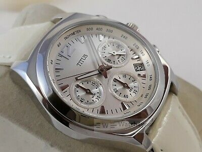 125f0a1dfe8 Watch Chronograph Women s Titus Swiss Ladies Chronograph Watch New Old  Stock Nos
