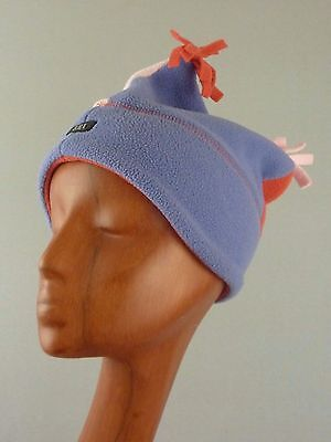 6bd4dceb4f2038 Girl's REI Winter Fleece Jester Hat Cap Beanie / Pastel Purple Pink / Kid's  4-