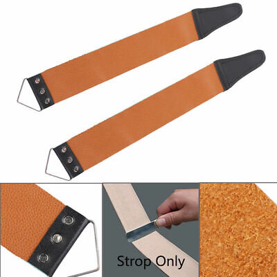 Colorful Barber Leather Straight Razor Sharpening Strop Shave Shaving Strap New