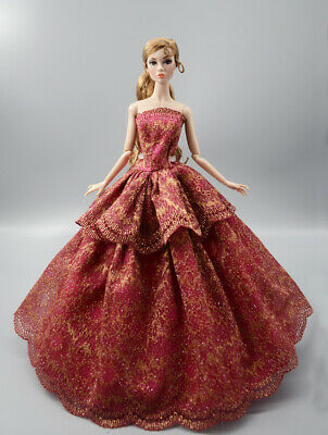 Fashion Princess Party Dress/Evening Clothes/Gown For 11.5in.Doll a13