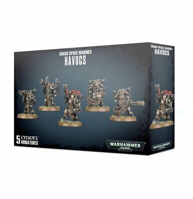 Warhammer 40,000 -- Chaos Space Marines Havocs - New 2019 - GW-43-61