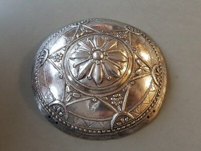 Antique & Original Ottoman Magnificent Hand Forged Silver Alloy Bridal Headpiece