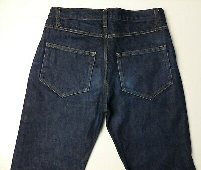Community Clothing Selvedge Zip Fly  Men's  Denim  Stretch Jeans Pant Size 28