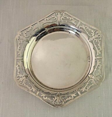 BARBOUR  SILVERPLATE WINE COASTER by INTERNATIONAL SILVER #5917
