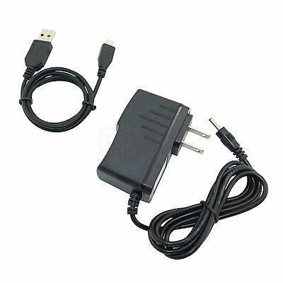 USB DC Power Adapter Charger Cable Cord For Archos Home Tablet 7 Version 1 A70HB