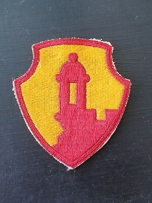 Army 6th Armored Division Cut Edge Od Border Patch Other Militaria Militaria Wwii U.s