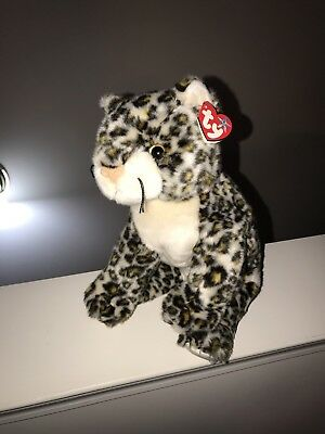 2d454f6960e TY SNEAKY THE LEOPARD BEANIE BUDDIES COLLECTION - with MINT TAG 13 ...