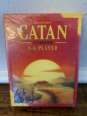 Settlers of Catan Board Game 5th Edition 5-6 Players Extension Pack CT3072 New