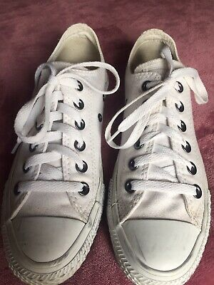 CONVERSE ALL STAR chucks low/ Weiß/ 38 Sneaker/ Gr.5