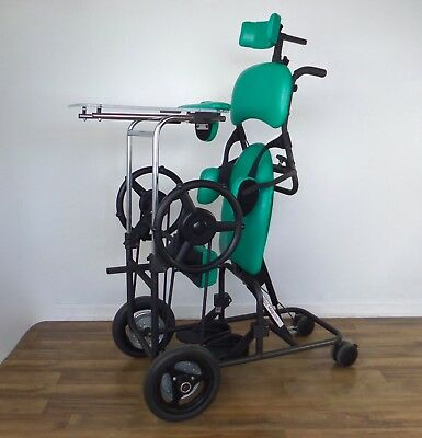EasyStand 7500 MOBILE Magician standing frame, independent pediatric wheelchair