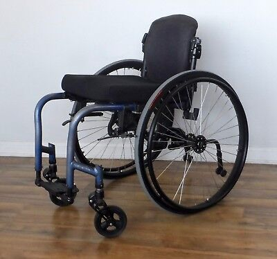 Quickie GTX ultralight folding wheelchair, Frog Legs forks, like tilite-spinergy