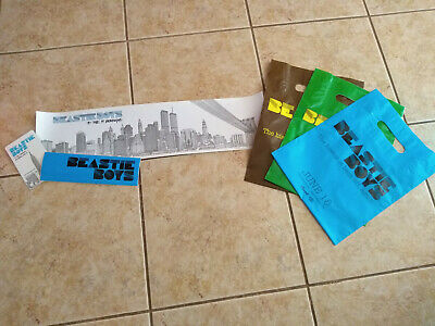 Beastie Boys To The 5 Boroughs Promo Lot Poster Record Store Bags Sticker ++