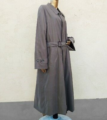 Chaps Ralph Lauren Sz 42L mens trench coat Vtg Removable wool blend liner
