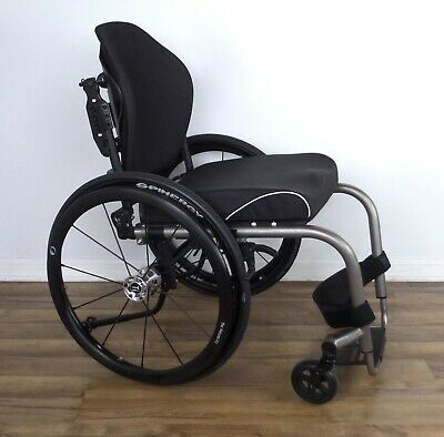 TiLite Aero-Z ultralight wheelchair, Spinergy LX wheels, Natural-Fit rims, zra