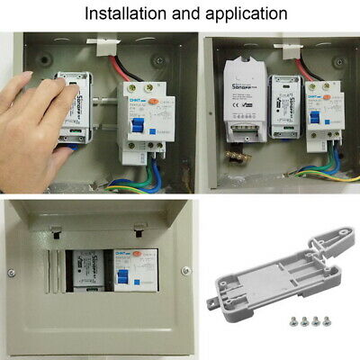 LP Sonoff DR DIN Mounted WIFI Smart Switch Industrial ABS shell din-rail Box