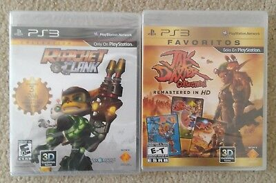 New Ratchet and Clank & Jak and Daxter Trilogy Collection Playstation 3 PS3 Game