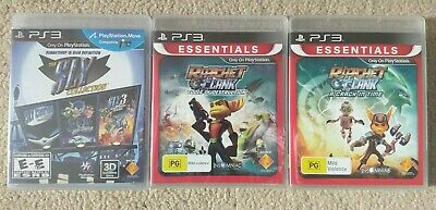 NEW Sly Cooper Trilogy Collection & Ratchet and Clank Games Playstation 3 PS3