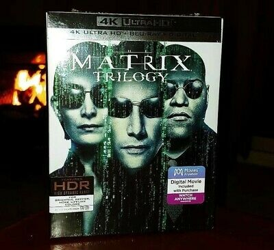 The Matrix Trilogy (4K Ultra HD Blu-ray/Blu-ray/Digital) BRAND NEW & SEALED