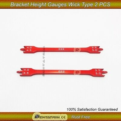2 x Bracket Positioning Height Gauge Wick Type 3.5mm-5mm Dental Surgical Tool